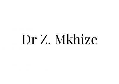 Dr Z Mkhize